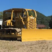 CAT D6D CRAWLER DOZER, S# 4X5180, OROPS, REAR AND SIDE SCREENS, SEMI U BLADE, LIMB RISERS, WINCH