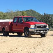 2003 FORD F350 XL SUPER DUTY, 1FDWW37P73EC93508, CREW CAB, 6.0 ENGINE, 4WD, 98,628 MILES, 8' WARNER
