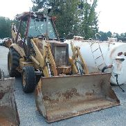 1993 CASE 580 SC BACKHOE, 5,052 FRONT END LOADER, (HYDRAULIC PROBLEMS) S#