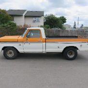 1976 FORD F150 RANGER PICKUP *TITLE DELAY*