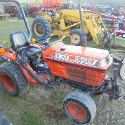 Kubota B1550, Gear Drive, 4wd, Kelly PA Blade, 1043 Hours, Nice 1 Owner Tra