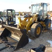 UNUSED CAT 908M RUBBER TIRED LOADER SNZ88 SERIES powered by Cat C3.3B DIT diesel engine, 74hp, equip
