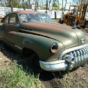 1950 Buick Sedan 2DR Fastback, Coupe, Green Color, Not Running, VIN: 45600052, This Car Is Sold On B