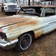 1962 Pontiac Catalina 2DR Hardtop, Blue Color, Automatic Transmission, Not Running, VIN: 362K18259,