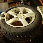 Winter tires for VW Passat 2006 in good condition