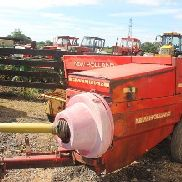 NEUER HOLLAND 377 HAYLINER BALER