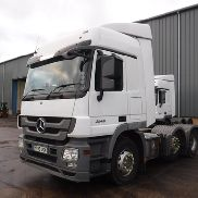 2010 RHD MERCEDES ACTROS 2546 6X2 M LIFT TRACTOR