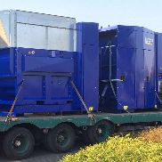 Strautmann Bale Tainer, pressing force 60 t, built in 2011, about 3,052 hours of operation, chute 3,700 x 1,909 x 640 mm