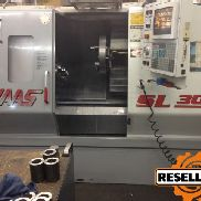 "Haas SL-30 - 3 ""da bar, 10"" Chuck, 3.400 RPM 1999"