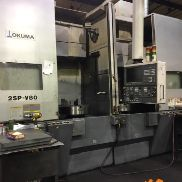 (2) Okuma 2SP-V80 Twin Spindle VTL - 2008