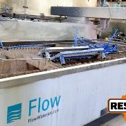 Flow Mach 2-4020B 13' x 6.5' Waterjet, 2015