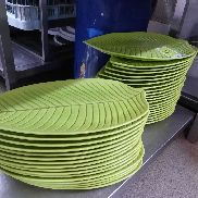 Lots serving plate, sheet optics, about 35 pc.
