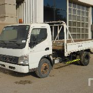 2008 MITSUBISHI CANTER 4x2 Flatbed Truck