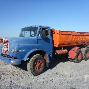 1971 MAN 19.230DH 6x4 Dump Truck Parts/Stationary Trucks - Other