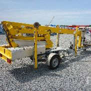 2007 OMME 1550EBZX Electric Tow Behind Articulated Boom Lift