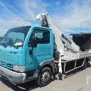 2005 NISSAN CABSTAR 35.10 w/Manitou MOB 170 Bucket Truck