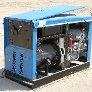 1997 MILLER BIG BLUE 600DX Skid Mounted Multi-Function Unit