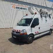 2008 RENAULT MASTER 120DCI w / France Elevateur 122F 12 m Bucket Truck