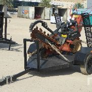 2010 Ditch Witch 1230 Walk Behind gummibereifte Mini Trencher