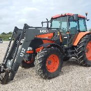 2012 KUBOTA M130X 4WD Agricultural Tractor MFWD Tractor