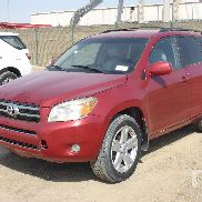 2007 TOYOTA RAV4 4x4 Sport Utility Vehicle
