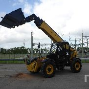 2013 CATERPILLAR TH417C 4x4x4 Telescopic Forklift