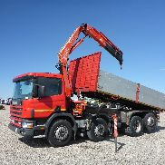 UNUSED 2000 SCANIA G124-420 8x2 Dump Truck mit Kran