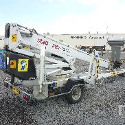 2007 DINO 210XT Electric Tow Behind Articulated Boom Lift
