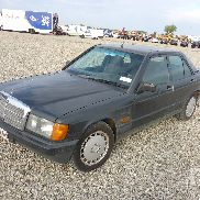 1987 MERCEDES-BENZ 190D Automobile