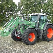 2009 FENDT 820 VARIO TMS MFWD Tractor