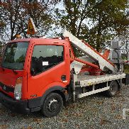 2008 NISSAN CABSTAR 35.11 w/2008 Multitel MX200 Bucket Truck