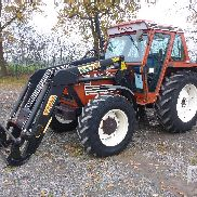 1990 FIAT 8090DT Tractor MFWD