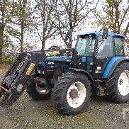 1998 NEW HOLLAND 8340 MFWD Tracteur