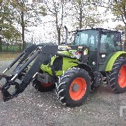 2008 CLAAS AXOS 340C MFWD Tractor