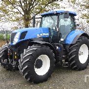 2012 NEW HOLLAND T7.250 MFWD Tractor