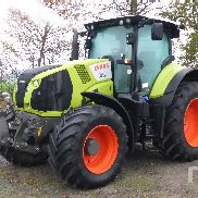 2014 CLAAS AXION 810CEBIS MFWD Tractor