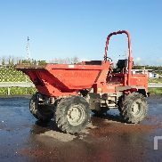 2008 BARFORD SXR6000 4x4 Swivel Dumper