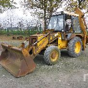 1987 JCB 3CX 4x4 Loader Backhoe