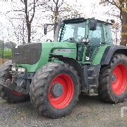 FENDT 916 VARIO TMS MFWD Tractor