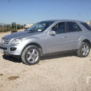 2007 MERCEDES-BENZ ML320 4x4 Sport Utility Vehicle