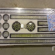 UNUSED 2017 EXPLORE QUANTITY OF 14 LED Work Lights & Light Bars Misc Shop, Warehouse, Consumer
