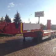 UNUSED 2017 OZGUL 70 Ton Quad/A Semi Lowboy