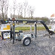 2007 OMME MINI 12EZ Electric Tow Behind Boom Lift