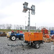 2010 PRAMAC LSW10 Portable Light Tower