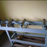 Roller conveyor feed