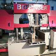 Bandsaw with material feed