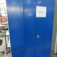 2 door tool cabinet metal, size: 1200 x 400 x 2000 mm, without content