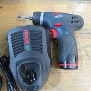 Cordless Screwdriver BOSCH type GSR10,8V LI ION, incl. Battery and charger