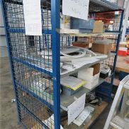 Shelving trolleys, Platform Size: 1200 x 800 mm, with 4 floors, including content.