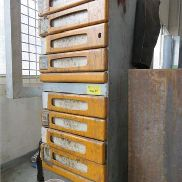 Tool shop cabinet, B: 400 mm, T: 600 mm, H: 1150 mm, including hand tools.